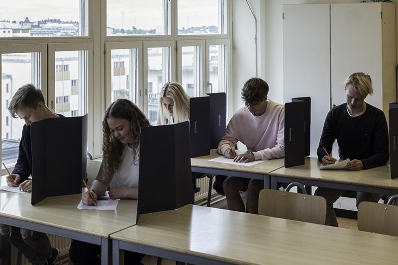 Focusscreen XL klassrum elever